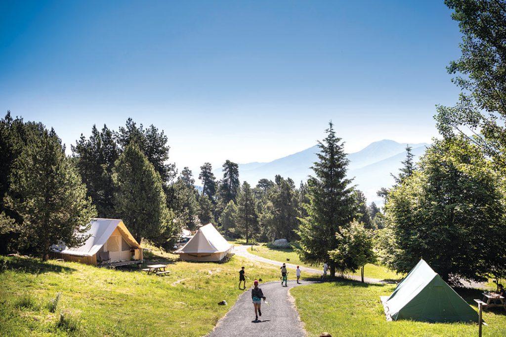 Camping Huttopia Font Romeu
